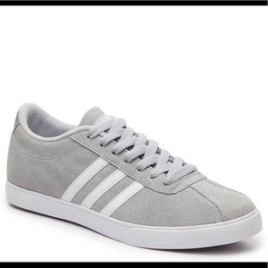 NWT Adidas Gray Neo Courtset Sneakers